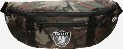 NEW ERA Gürteltasche 'NFL Oakland Raiders Light' in braun / grün, Produktansicht