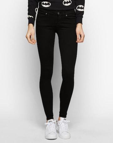 Dr. Denim 'Dixy' Skinny Jeans in Schwarz