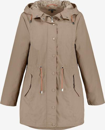 Ulla Popken Prehodna jakna | temno bež barva, Prikaz izdelka