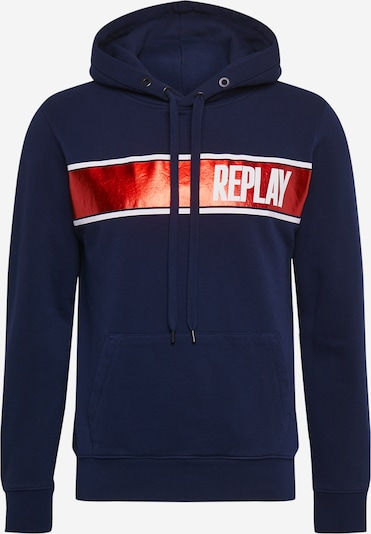 REPLAY Sweatshirt in dunkelblau, Produktansicht