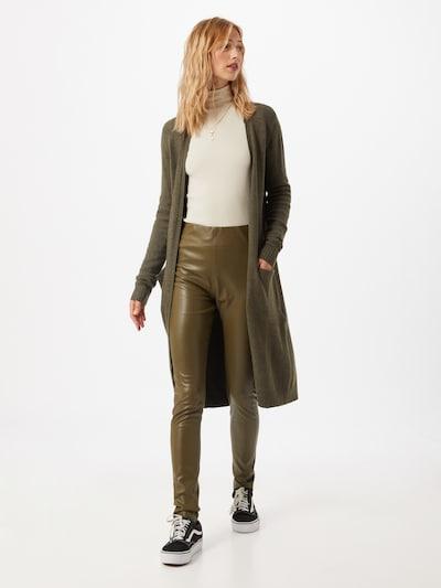 VILA Cardigan 'Ril' in oliv, Modelansicht
