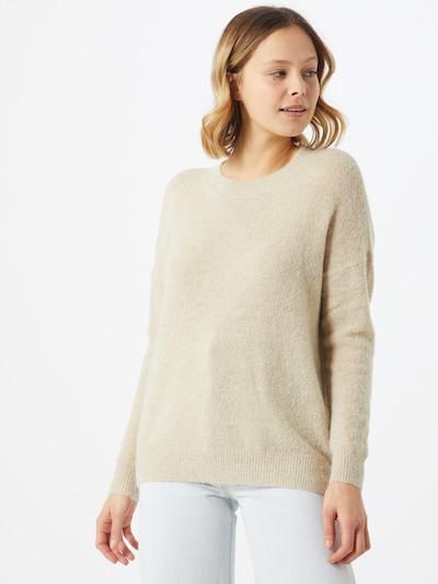MOSS COPENHAGEN Pullover in hellbeige, Modelansicht