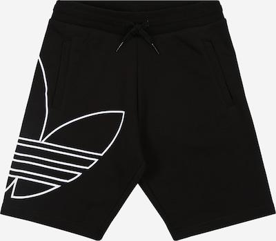 ADIDAS ORIGINALS Broek 'Big Trf' in de kleur Zwart / Wit, Productweergave
