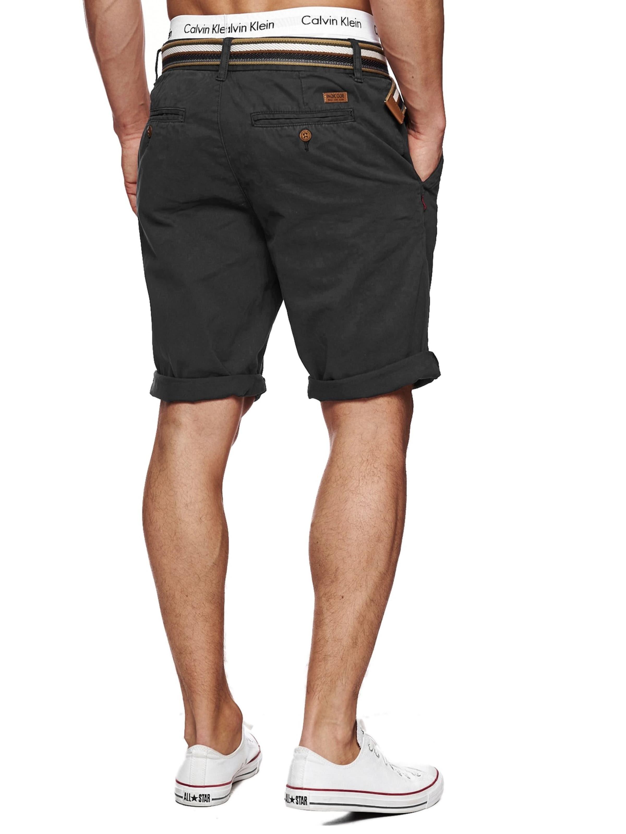 Jeans Gris Pantalon 'cuba' Chino Basalte Indicode En Ib7g6yYfv