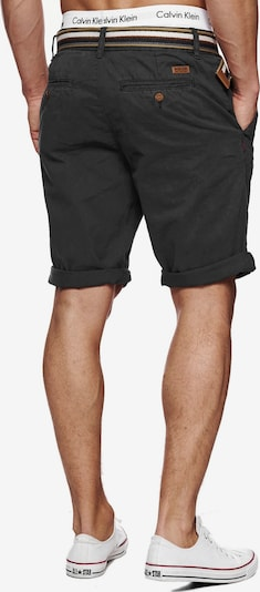 INDICODE JEANS Pantalon chino 'Cuba' en gris basalte, Vue avec produit