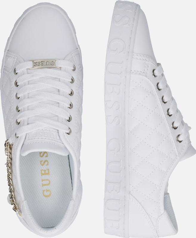 GUESS Sneakers laag 'Graselin' in Wit   ABOUT YOU