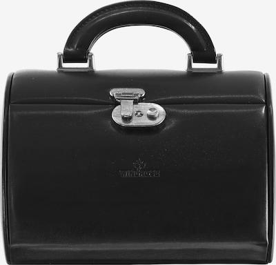 WINDROSE Sieraden-bewaring 'Merino' in de kleur Zwart, Productweergave
