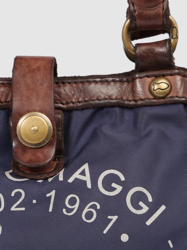 Campomaggi Handtasche aus Nylon-Leder-Mix