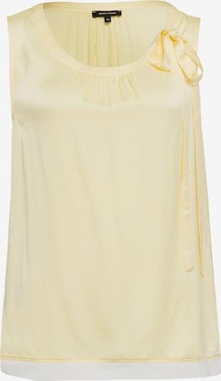 MORE & MORE Blusentop in gelb / weiß, Produktansicht