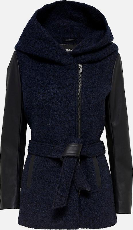 ONLY Mantel in nachtblau   schwarz  Freizeit, schlank, schlank