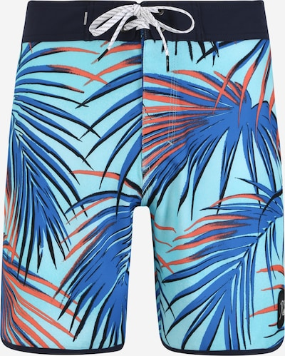 QUIKSILVER Shorts 'Sub Tropic 18' in blau / türkis: Frontalansicht