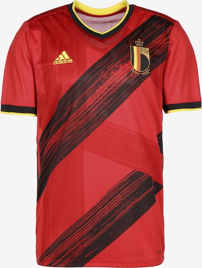 ADIDAS PERFORMANCE Trikot 'RBFA Belgien Home EM 2020' in gelb / rot / schwarz, Produktansicht