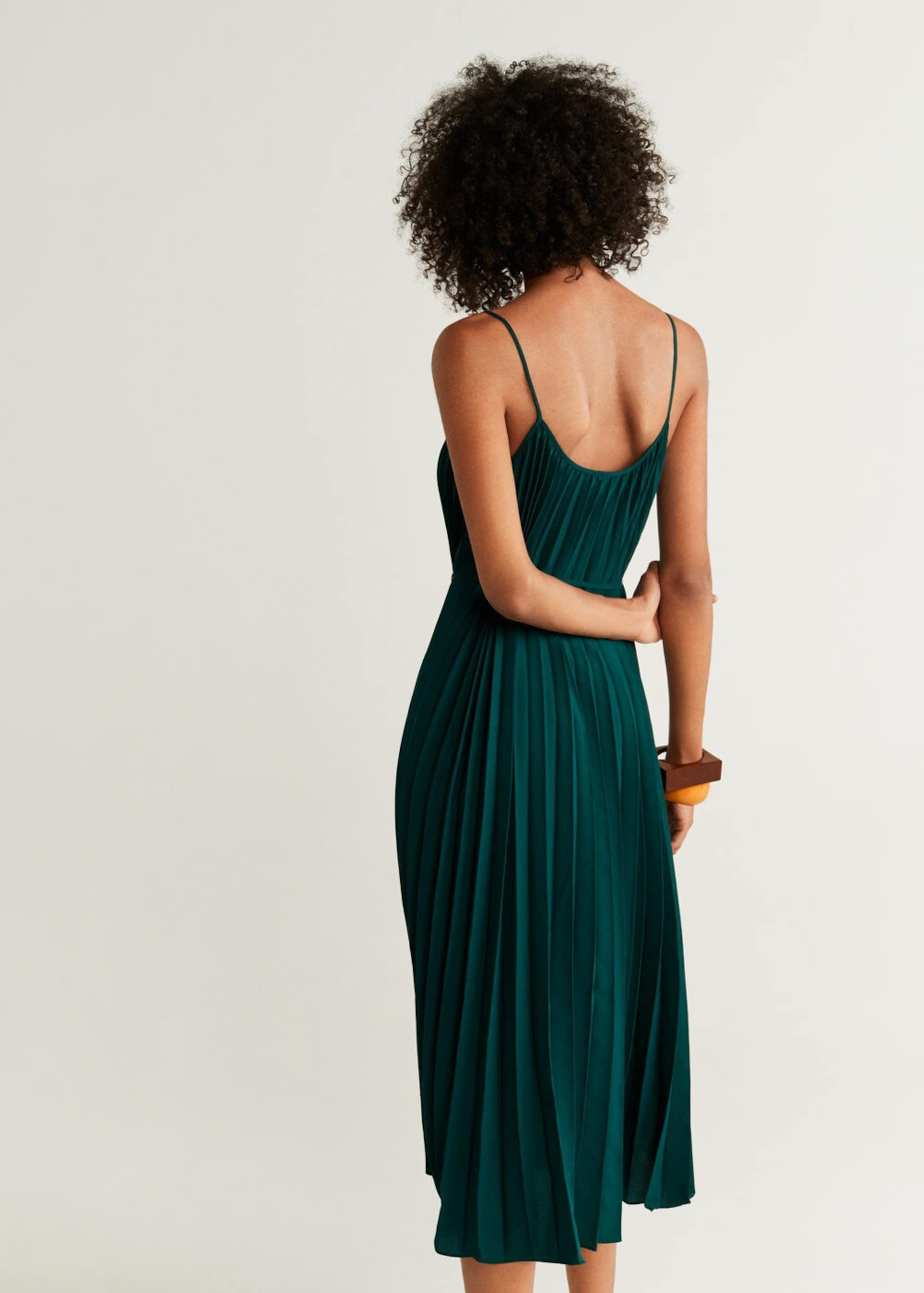 Mango Kleid Tanne 'plisado' Mango Kleid In 6Y7bgyf