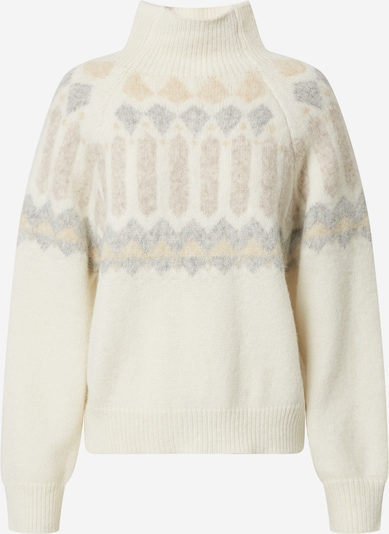 DRYKORN Sweter 'Cynara' w kolorze ecru / szarym, Podgląd produktu