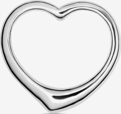 FAVS Anhänger 'Herz' in silber, Produktansicht