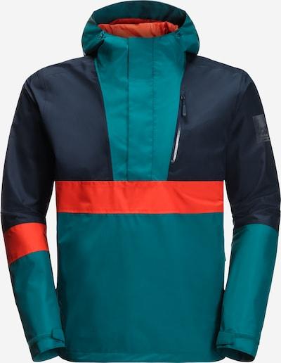 JACK WOLFSKIN Sportovní bunda '365 BOOSTER JACKET M' - tmavě modrá / petrolejová / oranžová, Produkt
