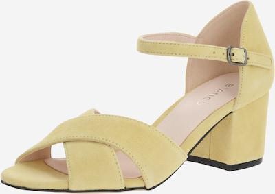 Bianco Sandalen 'BIACATE' in gelb, Produktansicht