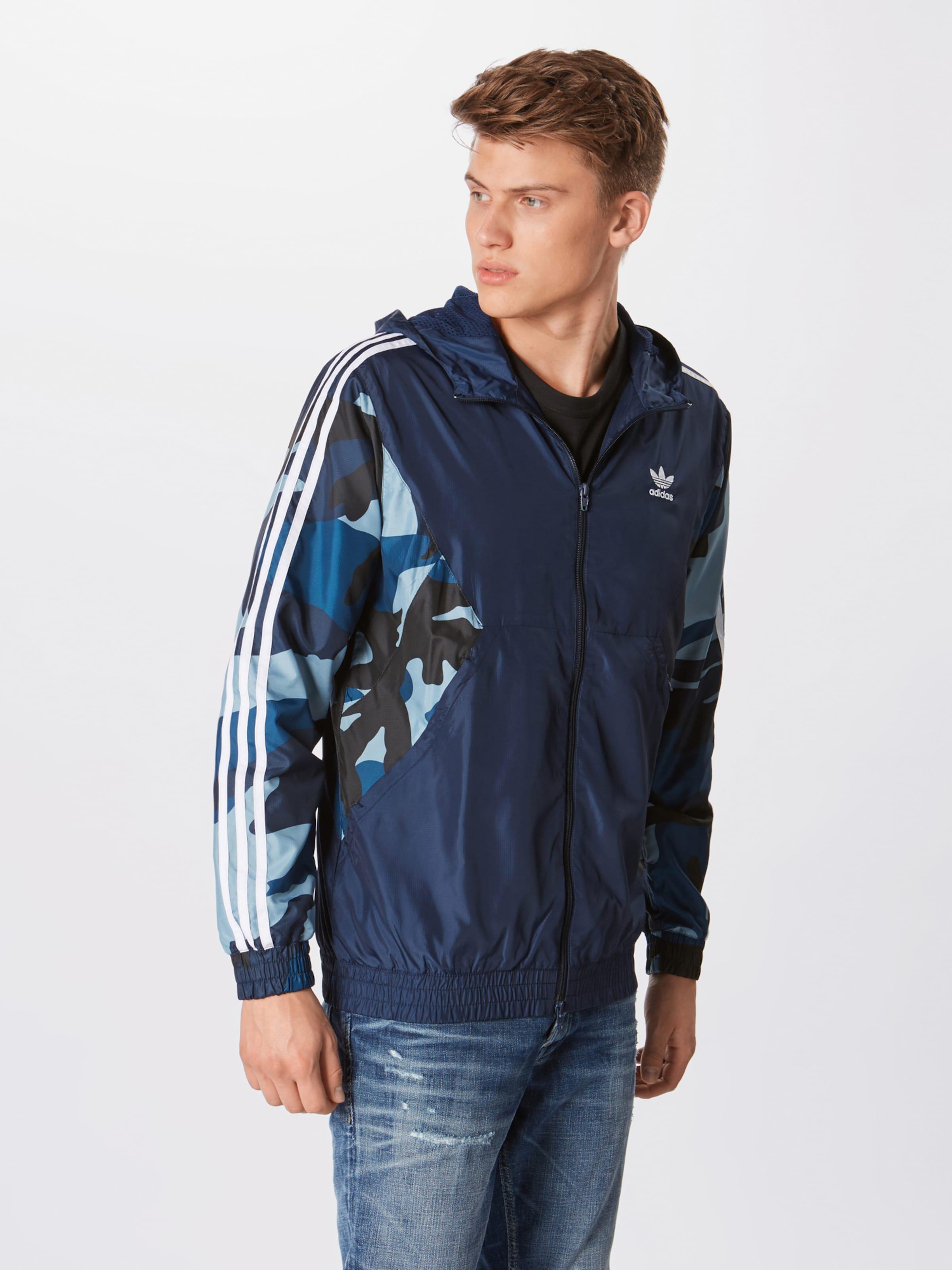 Marine Adidas saison 'camo Mi Bleu Originals En Veste Wb' 8wm0vNn