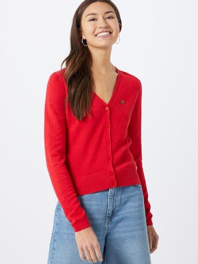 Kardiganas iš Blutsgeschwister , spalva - raudona, Modelio vaizdas
