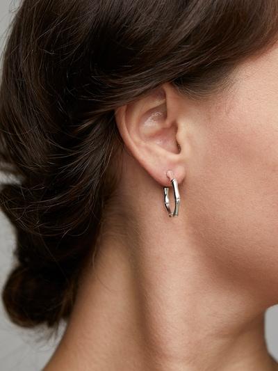 ezüst Pilgrim Fülbevalók 'Earrings Gali', Modell nézet