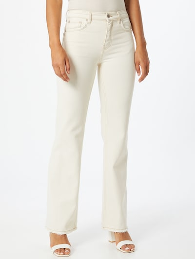 Free People Jeans 'Laurel Canyon ' in creme, Modelansicht