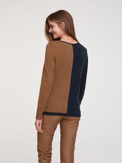 heine Sweter w kolorze ircha / atramentowym: Widok od tyłu