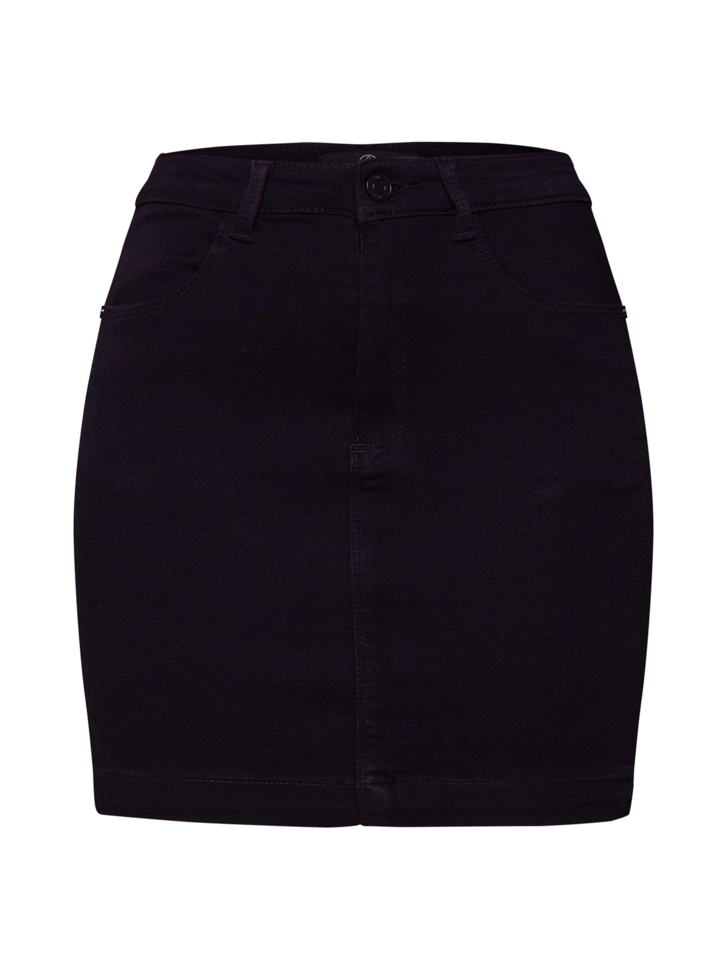 Skirt' In Schwarz Mini Rocke Missguided 'superstretch OPn8wk0