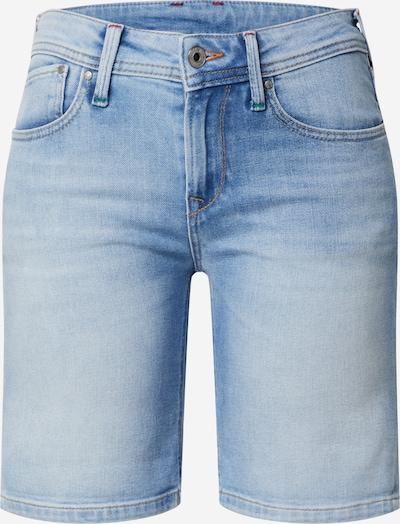 Pepe Jeans Džínsy 'POPPY SHORT PRIDE' - modrá denim: Pohľad spredu
