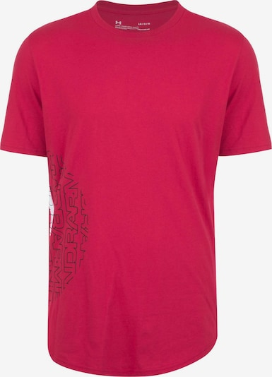 UNDER ARMOUR Trainingsshirt in rot, Produktansicht