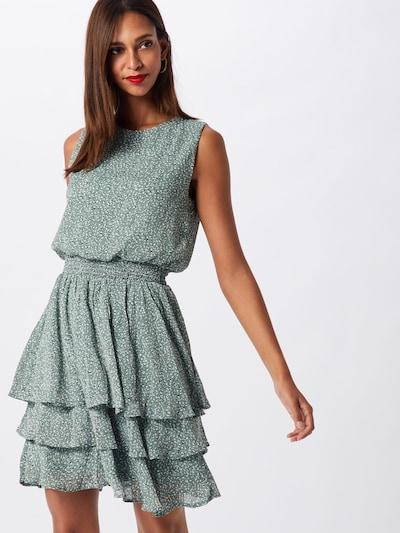 SISTERS POINT Cocktailklänning 'NICOLINE' i beige / mint, På modell