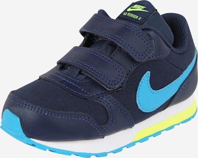Nike Sportswear Tenisky 'MD Runner 2' - námořnická modř / žlutá, Produkt