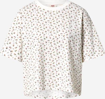 LEVI'S T-shirt en crème / noir, Vue avec produit