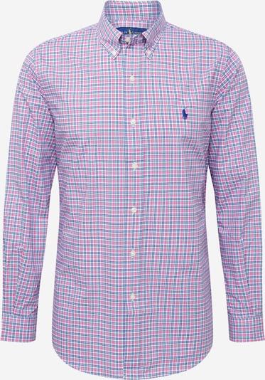 POLO RALPH LAUREN Skjorte 'CUBDPPCS' i blå / pink / hvid, Produktvisning