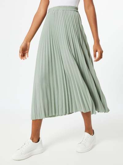 SELECTED FEMME Spódnica w kolorze pastelowy zielonym, Podgląd na modelu(-ce)