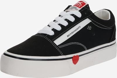 piros / fekete / fehér BRITISH KNIGHTS Rövid szárú edzőcipők 'MACK', Termék nézet
