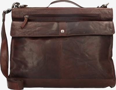 Spikes & Sparrow Schoudertas in de kleur Bruin, Productweergave