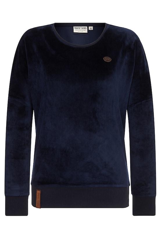 naketano bluzka sportowa 39 auf dem k chentisch 39 w kolorze ciemny niebieskim about you. Black Bedroom Furniture Sets. Home Design Ideas