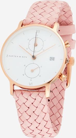 Kapten & Son Analogni sat u zlatna / roza / bijela, Pregled proizvoda
