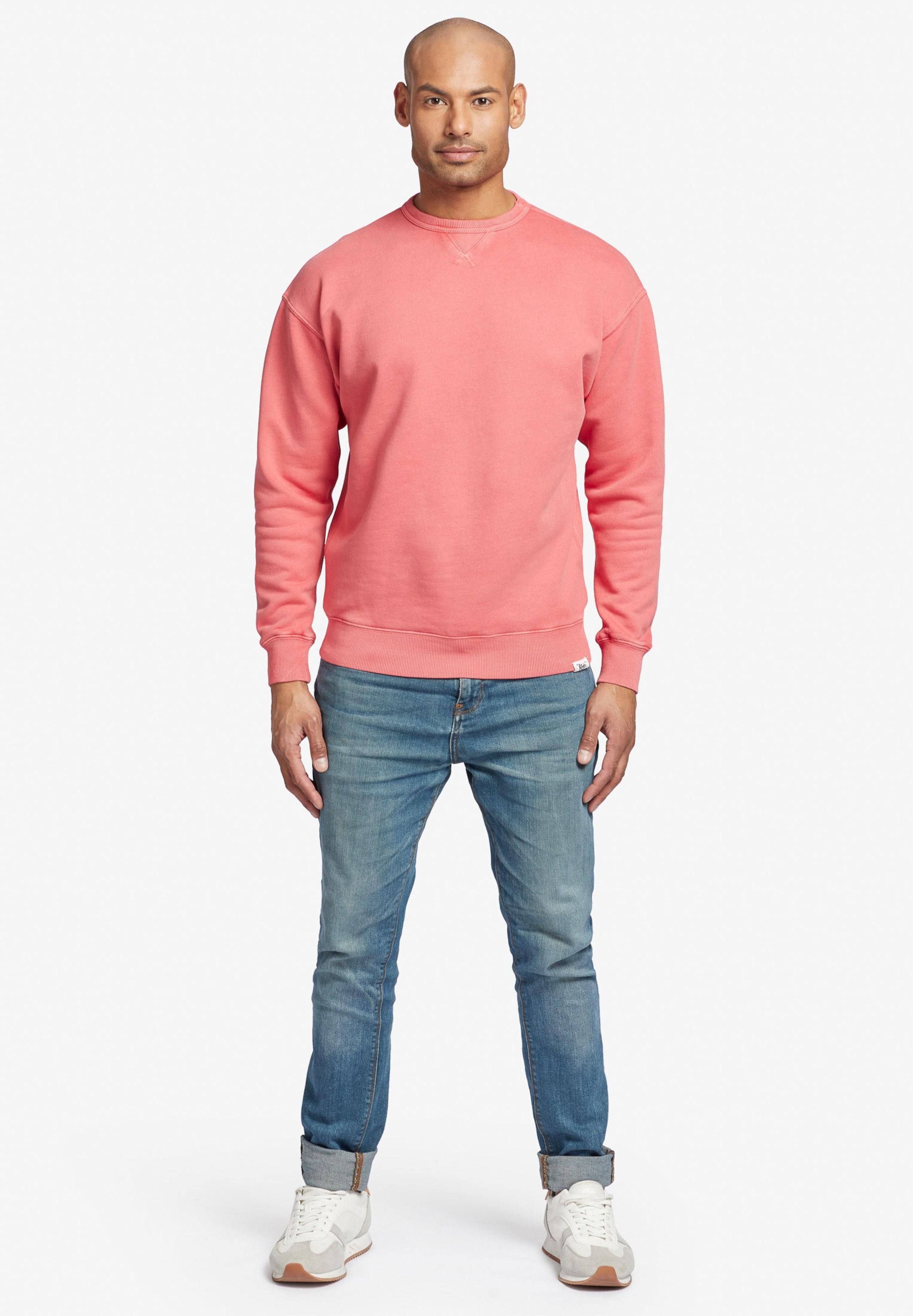 Sweat En Koralle Khujo shirt 'nekfe' 54ARj3L