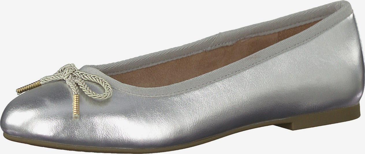 TAMARIS Slipper in silber, Produktansicht