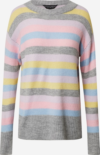 Dorothy Perkins Pullover in gelb / grau / rosa, Produktansicht