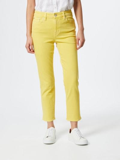 Lauren Ralph Lauren Džínsy - žlté, Model/-ka
