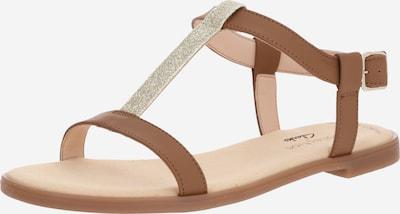 CLARKS Sandalen 'Bay Rosa' in braun, Produktansicht