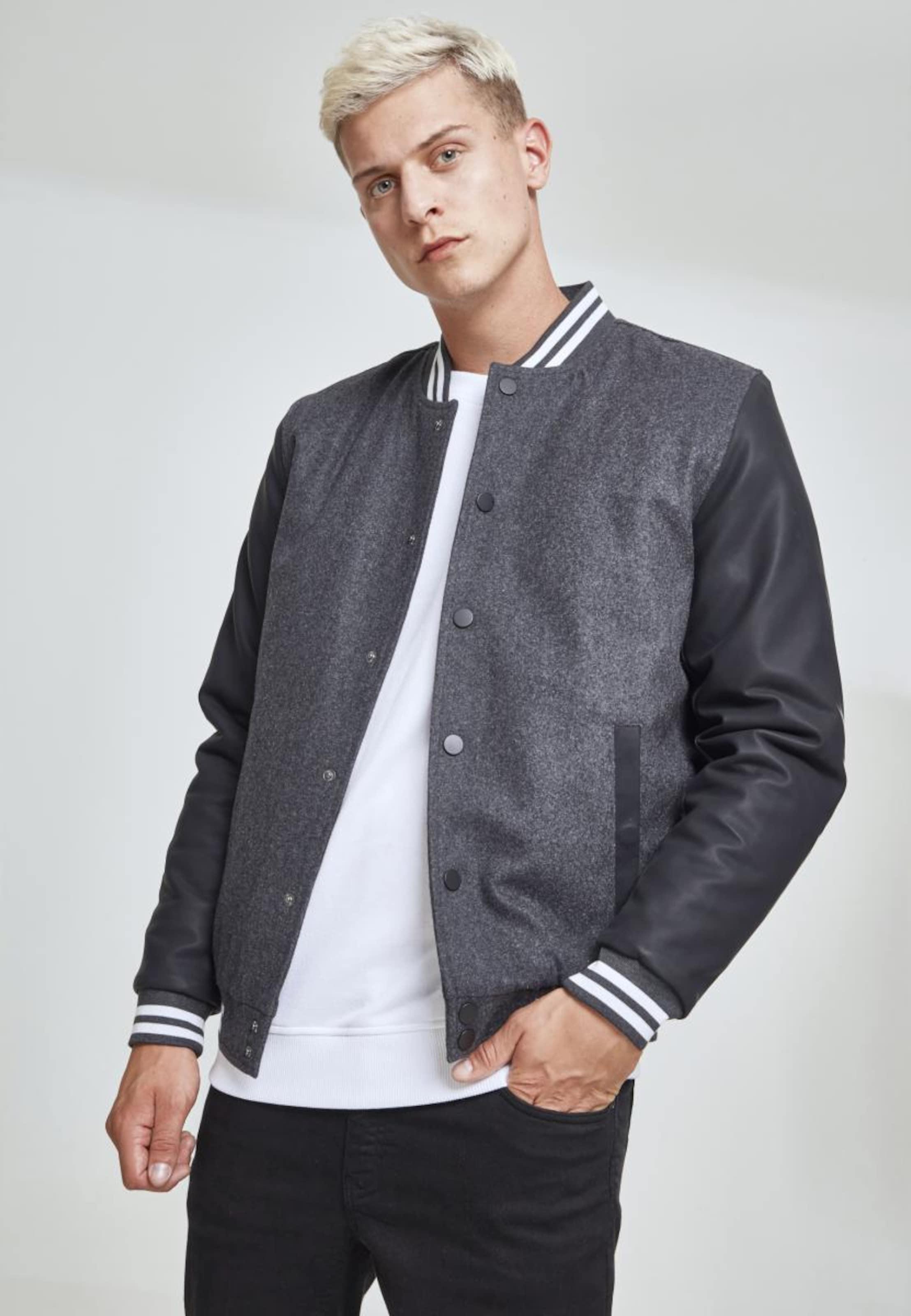 Jacket Weiß Urban 0' In 2 Classics 'oldschool SchwarzSchwarzmeliert N8n0wm