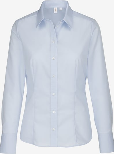 SEIDENSTICKER Bluza 'Schwarze Rose' | svetlo modra barva, Prikaz izdelka