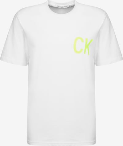 Calvin Klein Jeans T-Shirt ' On The Back Reg ' in weiß, Produktansicht