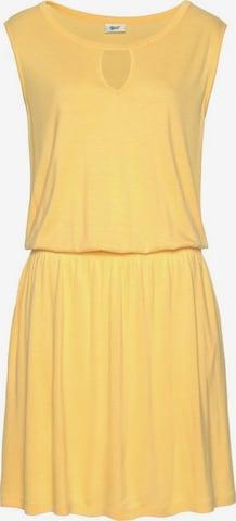 BEACH TIME Beach Dress in Yellow