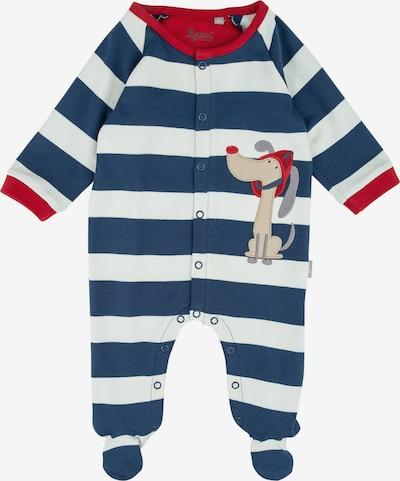 SIGIKID Schlafanzug in blau / weiß, Produktansicht