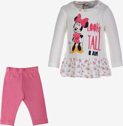 DISNEY Set 'Minnie Mouse' in gelb / pink / schwarz / weiß, Produktansicht