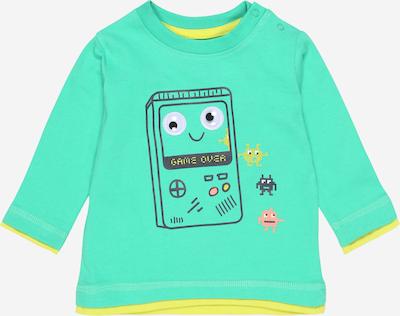 BLUE SEVEN Shirt in gelb / grün / rosa / schwarz, Produktansicht